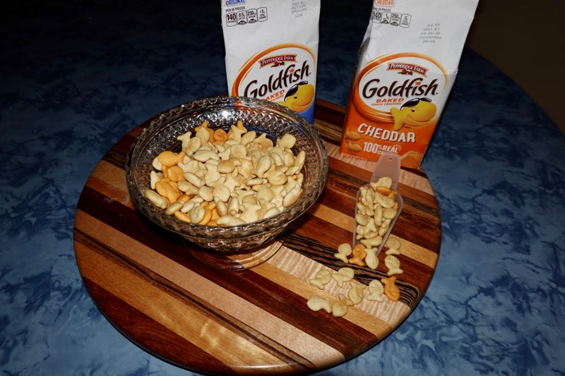Picture of Goldfish crackers used in activity