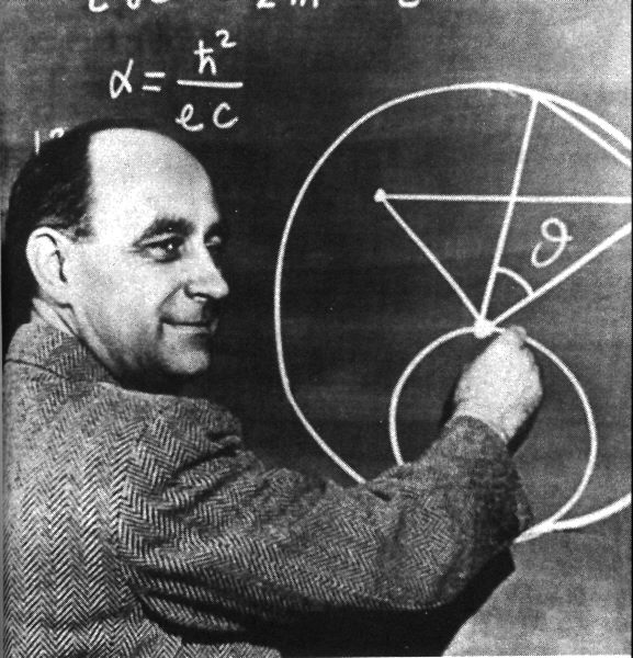 Fermi conducted the music of the atomic particles