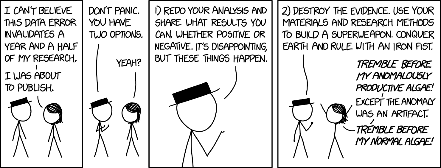 Cartoon about data ethics
