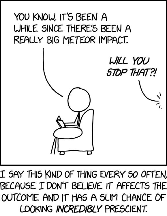 cartoon about prescience