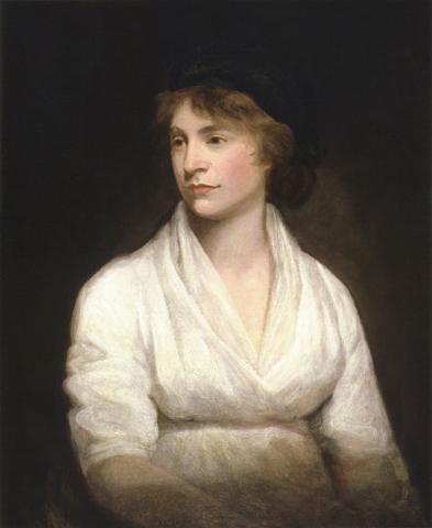 painting of Mary Wollstonecraft