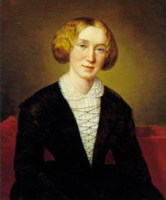 picture of Mary Anne Evans (also known as George Eliot)